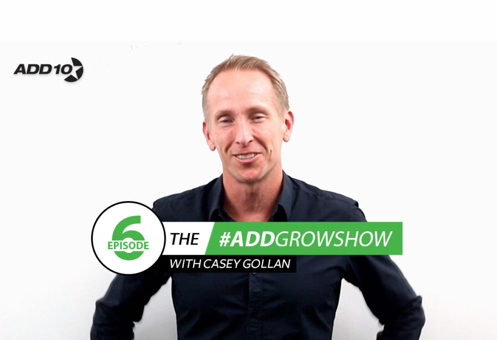The #Add10GrowShow #6: I Talk About my Fears